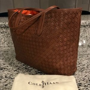 Cole Haan Bags - ⭐️Cole Haan NEW! Genevieve Woven Leather Weave Bag